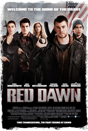 Red Dawn (2012) movie poster