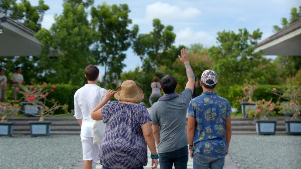 Gui Adorno, Cai Cortez, Kean Cipriano, and Khalil Ramos in Ang Babae sa Septic Tank 2 (2016).