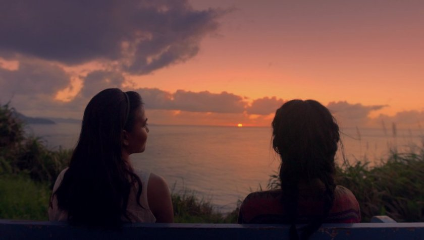 Alessandra de Rossi and Teri Malvar as Cielo and Sol, watching the sunset in 'Sakaling Hindi Makarating'.