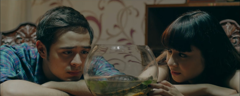 Jewel and Nico talk about her turtle in 'Ang Manananggal sa Unit 23B'.
