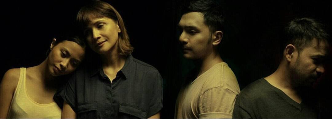 Anna Luna, Agot Isidro, Sandino Martin, and Jojit Lorenzo in 'Changing Partners'.