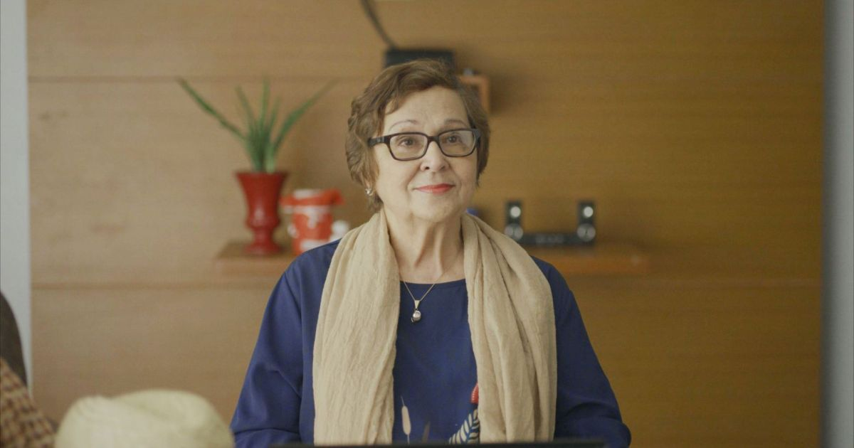 Rosemarie Gil as Delia in 'Delia & Sammy' (2018).